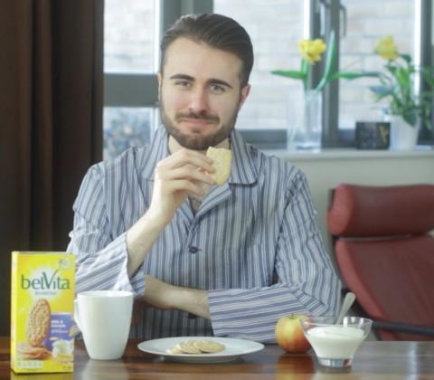 """Commercial: """"Tom"""" BelVita Breakfast Biscuit"""